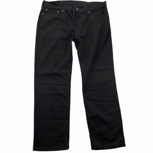 Levi's 559 40x32 Relaxed Straight Leg Black Jeans